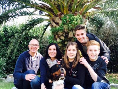 Familie Janssen in 2015