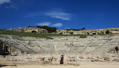 Teatro Greco Siracusa Sicilie